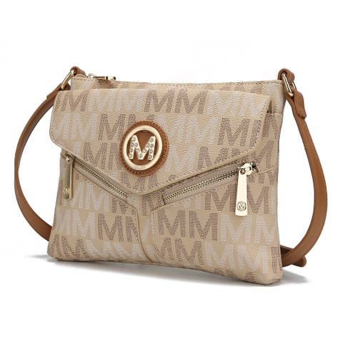 MKF Collection Nathy Milan M Signature Cross-body by Mia K.