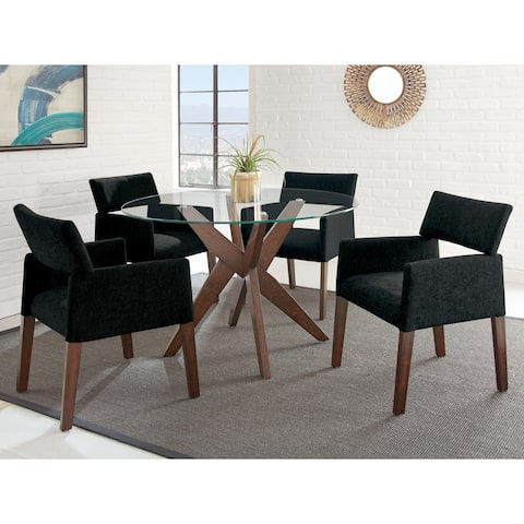 Carson Carrington Fagared Modern 5-piece Dining Set