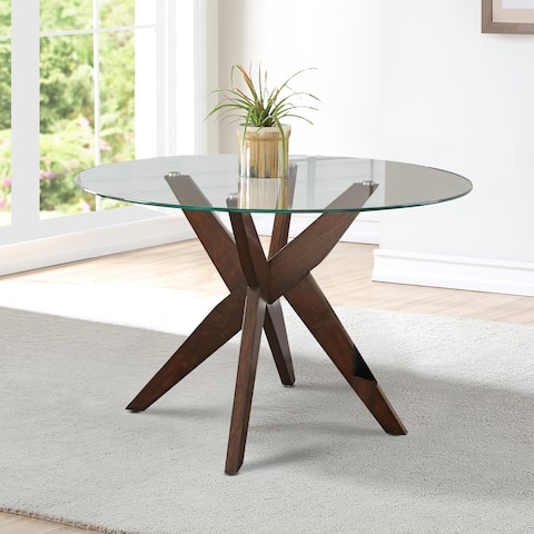 Carson Carrington Mora 48-inch Round Modern Dining Table