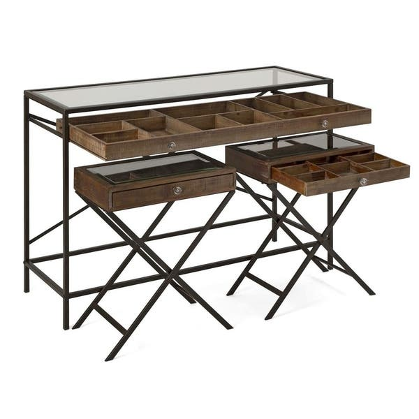 Robinson Console And Accent Tables Set Of 3 Overstock 27759151