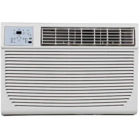 Keystone 12,000/11,600 BTU 230V Window/Wall Air Conditioner with 11,000 BTU Supplemental Heat Capability