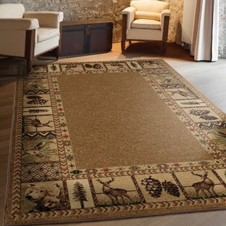 Orian High Country Albaster Area Rug - 7'10 x 10'10