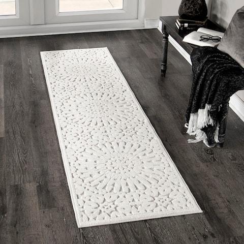 Orian Rugs Boucle Tunisian Tile Ivory