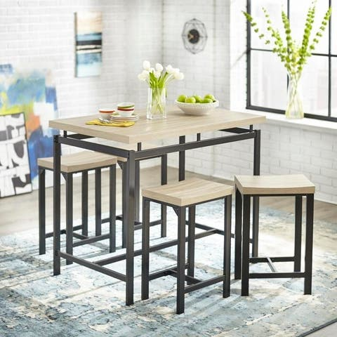 Simple Living Delano 5-piece Counter Height Dining Set