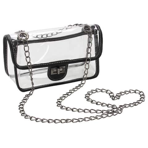 Roberto Amee Clear Crossbody Handbag