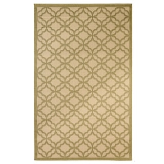 Festival Indoor/Outdoor Rugs Flatweave Contemporary Patio, Pool, Camp and Picnic Carpets FW 550 Green 4' x 6' - 4' x 6'