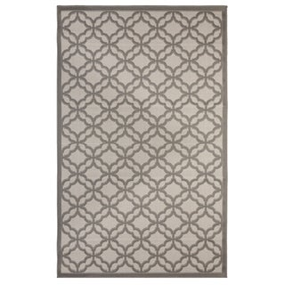 Festival Indoor/Outdoor Rugs Flatweave Contemporary Patio, Pool, Camp and Picnic Carpets FW 550 Gray 4' x 6' - 4' x 6'