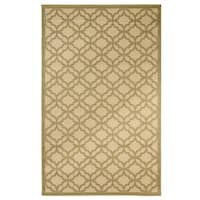 Festival Indoor/Outdoor Rugs Flatweave Contemporary Patio, Pool, Camp and Picnic Carpets FW 550 Green 2.4' x 7' - 2.4' x 7'