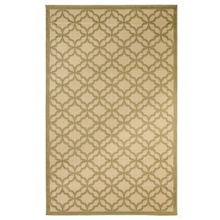 Festival Indoor/Outdoor Rugs Flatweave Contemporary Patio, Pool, Camp and Picnic Carpets FW 550 Green 5' x 8' - 5' x 8'