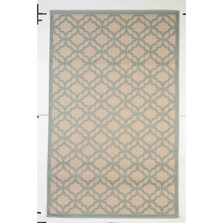 Festival Indoor/Outdoor Rugs Flatweave Contemporary Patio, Pool, Camp and Picnic Carpets FW 550 Light Blue 2.4' x 7' - 2.4' x 7'