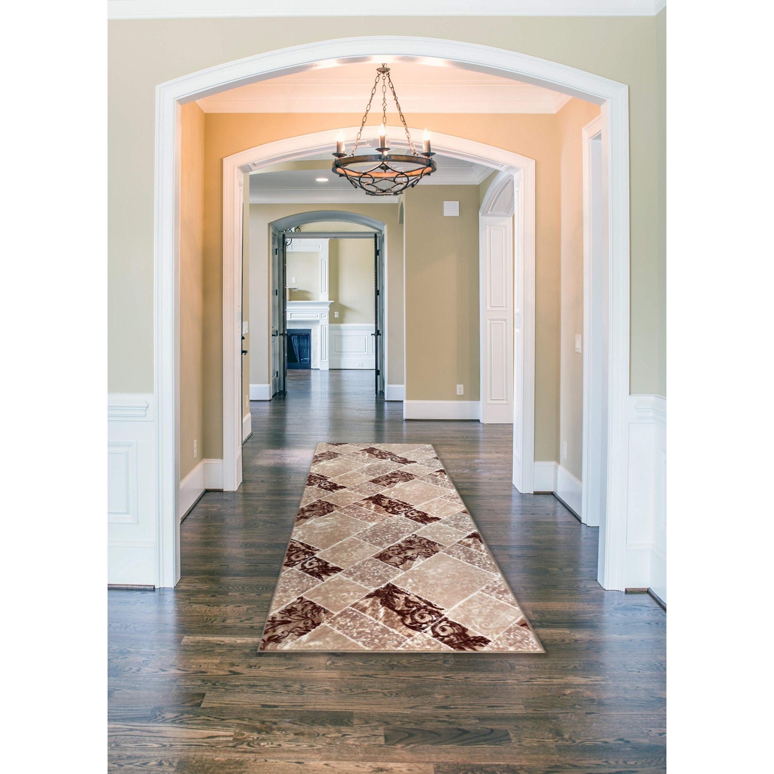8 x 10 Area Rug Floor Carpet Tufted 100/% Olefin Non Skid Resistant Rubber Back