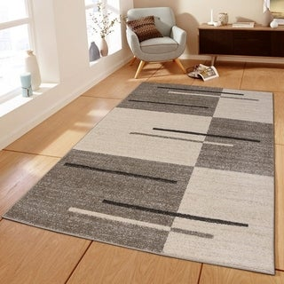 Piano String Area Rug MNC 100 Brown 5' x 7' - 5' x 7'