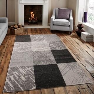Caramel Drizzle Area rug MNC 600 Gray 8' x 10' - 8' x 10'