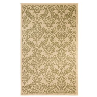 Grandeur Indoor/Outdoor Rugs Flatweave Contemporary Patio, Pool, Camp and Picnic Carpets FW 511 Green 4' x 6' - 4' x 6'