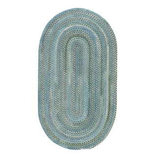 Capel Rugs Alliance Thyme Braided Oval Area Rug - 7' x 9'