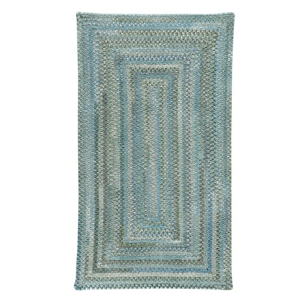 Capel Rugs Alliance Thyme Braided Concentric Rectangle Area Rug - 3' x 5'