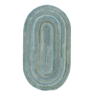 Capel Rugs Alliance Thyme Braided Oval Area Rug - 4' x 6'