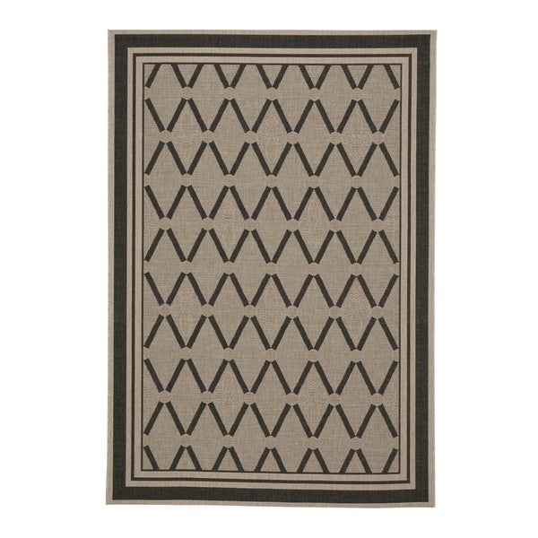 "Capel Rugs Biltmore Elsinore-Lattice Cinders Machine Woven Rectangle Area Rug - 3' 11"" x 5' 6"""