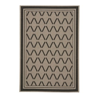 "Capel Rugs Biltmore Elsinore-Lattice Cinders Machine Woven Rectangle Area Rug - 7' 10"" x 11'"