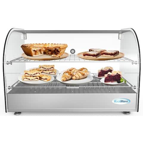 22-Inch Commercial Countertop Food Warmer Display Case Merchandiser 1.5 cu.ft.