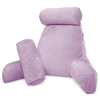 Nestl Reading Pillow, Bed Rest Pillow with Arms for Kids Teens and Adults.