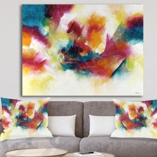 Designart 'Taking Center Stage' Modern & Contemporary Gallery-wrapped Canvas