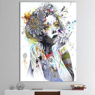 Designart 'Circulation' Modern & Contemporary Canvas Artwork