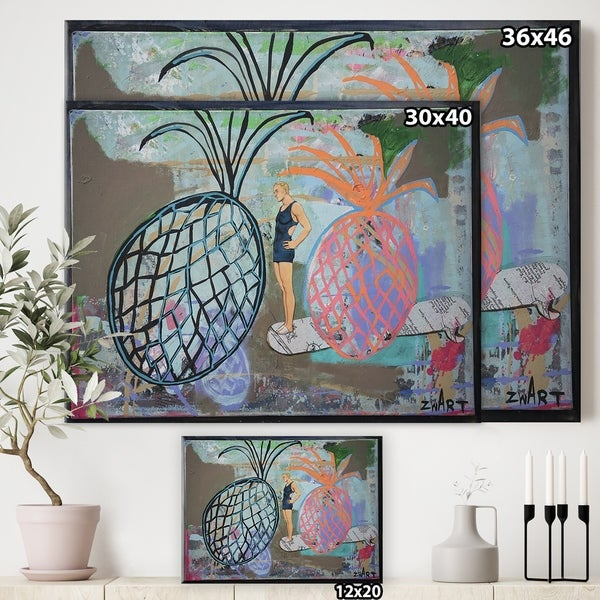Butterfly Element II Canvas Artwork 20 x 16 Global Gallery Courtney Prahl