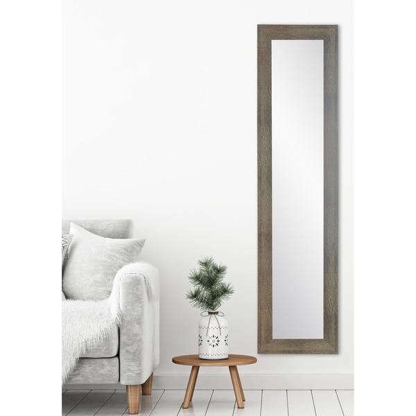 Farmhouse Olive Slim Full Length Mirror