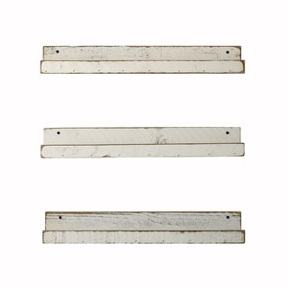 24 Inch Floating Ledge Shelves Set of 3