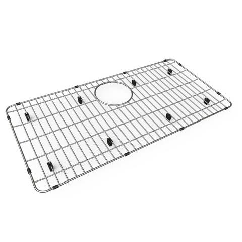 "Elkay Stainless Steel 28-5/16"" x 14-5/16"" x 1"" Bottom Grid - 27-1/2 x 13-1/2 x 1-1/4"