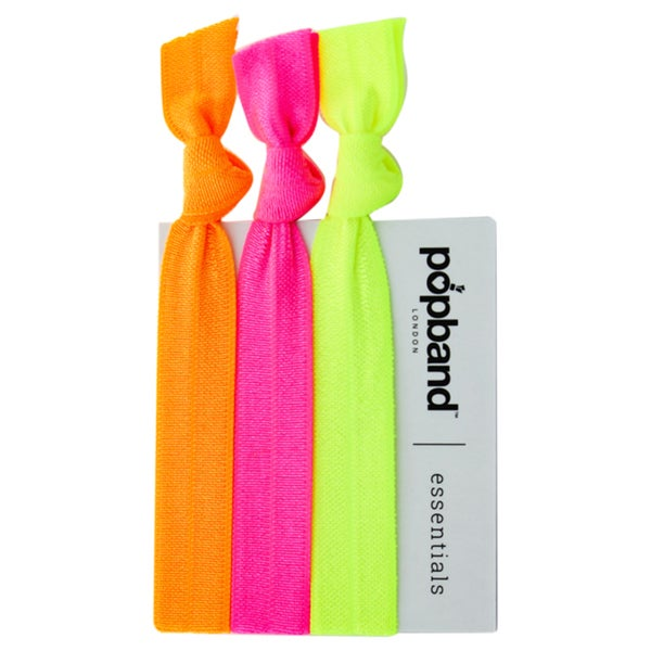 2ffee00ccba03 Popband Essential Neon Orange Hair Bands