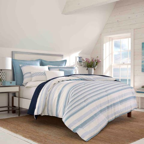 Nautica Locklear Blue Comforter Sham Set
