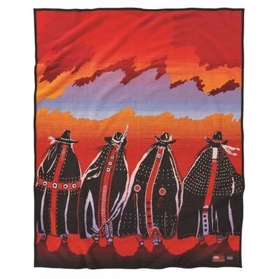Pendleton Rodeo sisters Blanket