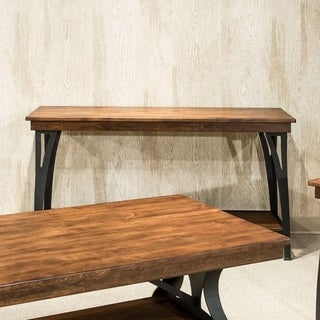The District Copper Finish 1-shelf Sofa Table