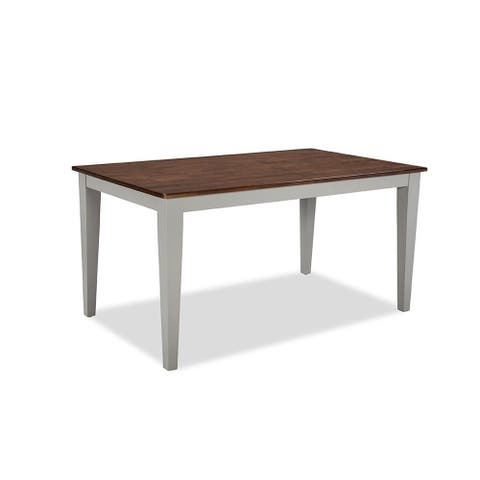 Small Space Cherry and Grey Table