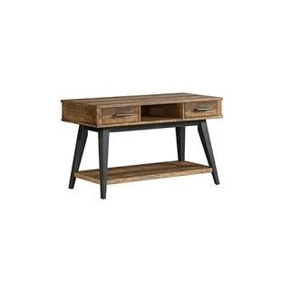 Urban Rustic Brushed Wheat 2-drawer Sofa/Media Table