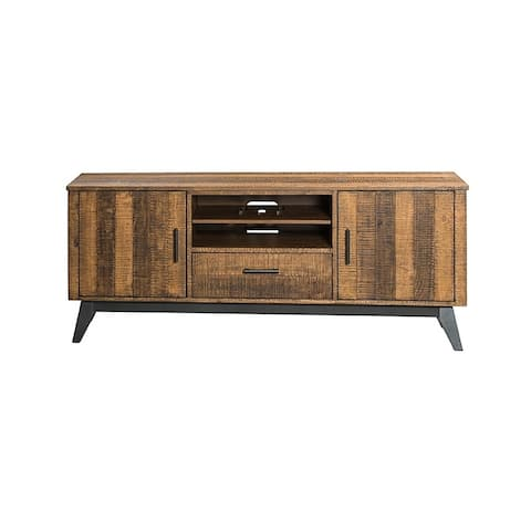 Intercon Brushed Wheat 70-inch TV Console