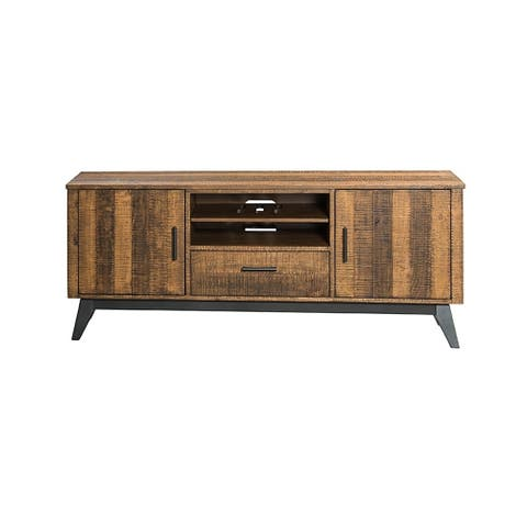 Urban Rustic Brushed Wheat 70-inch TV Console