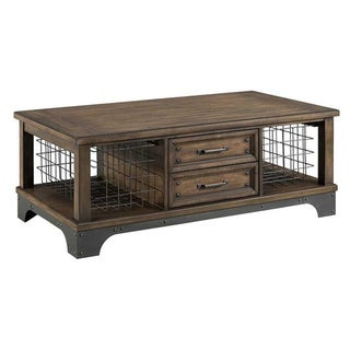 Link to The Gray Barn Hatchery Gun Powder Grey 2-drawer Coffee Table Similar Items in Living Room Furniture