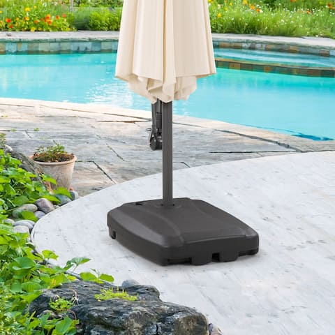 CorLiving Umbrella Base with Wheels