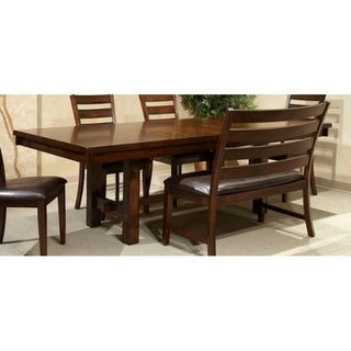 Kona Raisin Dining Trestle Table