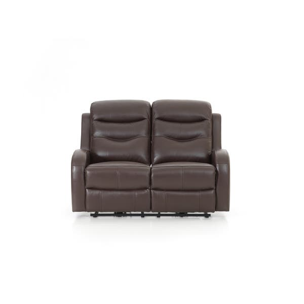 Tremendous Shop Milano Leather Chocolate Power Reclining Loveseat Squirreltailoven Fun Painted Chair Ideas Images Squirreltailovenorg