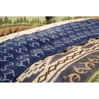 Realtree Lakeland Strip Comforter Set - Navy