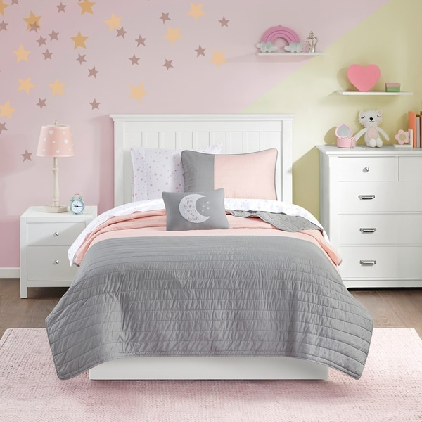 Mi Zone Kids Morgan Complete Coverlet and Sheet Set