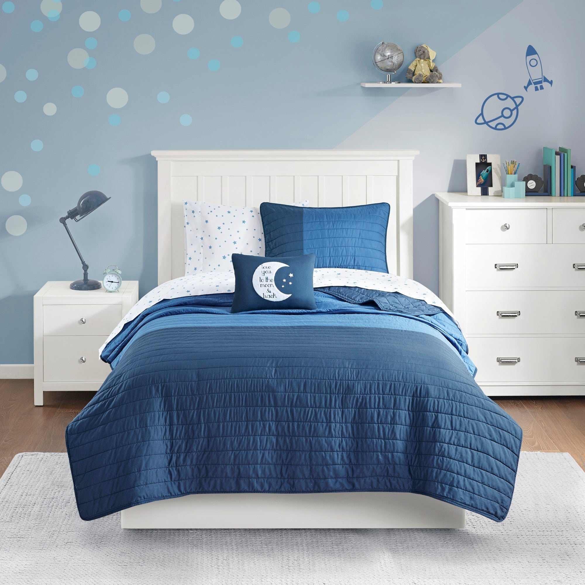 Soft /& Comfy 100/% Cotton Twin, White by Crescent Bedding Twin Flat Sheet Only