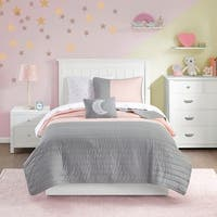 Mi Zone Kids Morgan Complete Coverlet and Sheet Set 2-Color Option