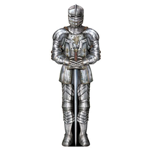 Beistle 6' Medieval Theme Jointed Suit Of Armor Figure - 12 Pack (1/Pkg)
