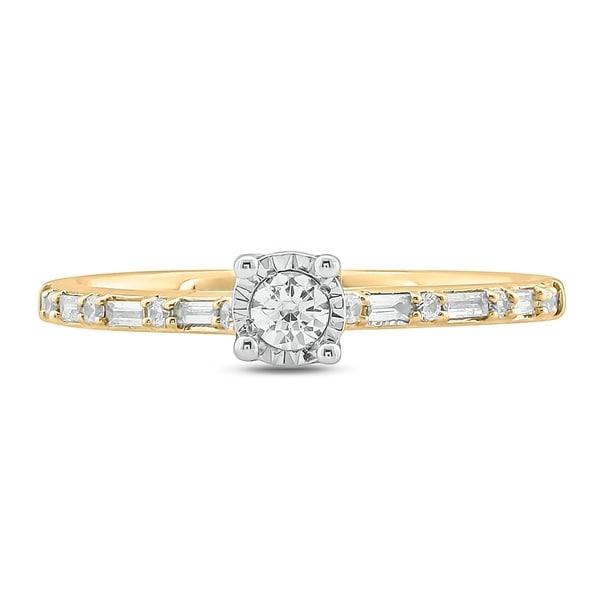 1//10 cttw, Size-3.25 Diamond Wedding Band in 14K White Gold G-H,I2-I3