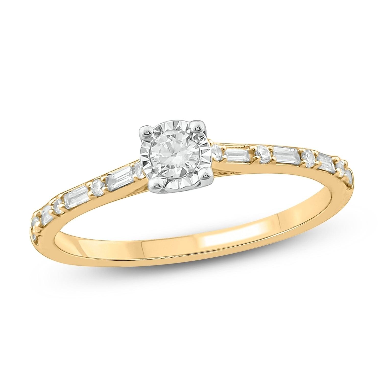 Diamond Wedding Band in 10K White Gold 1//6 cttw, Size-13 G-H,I2-I3